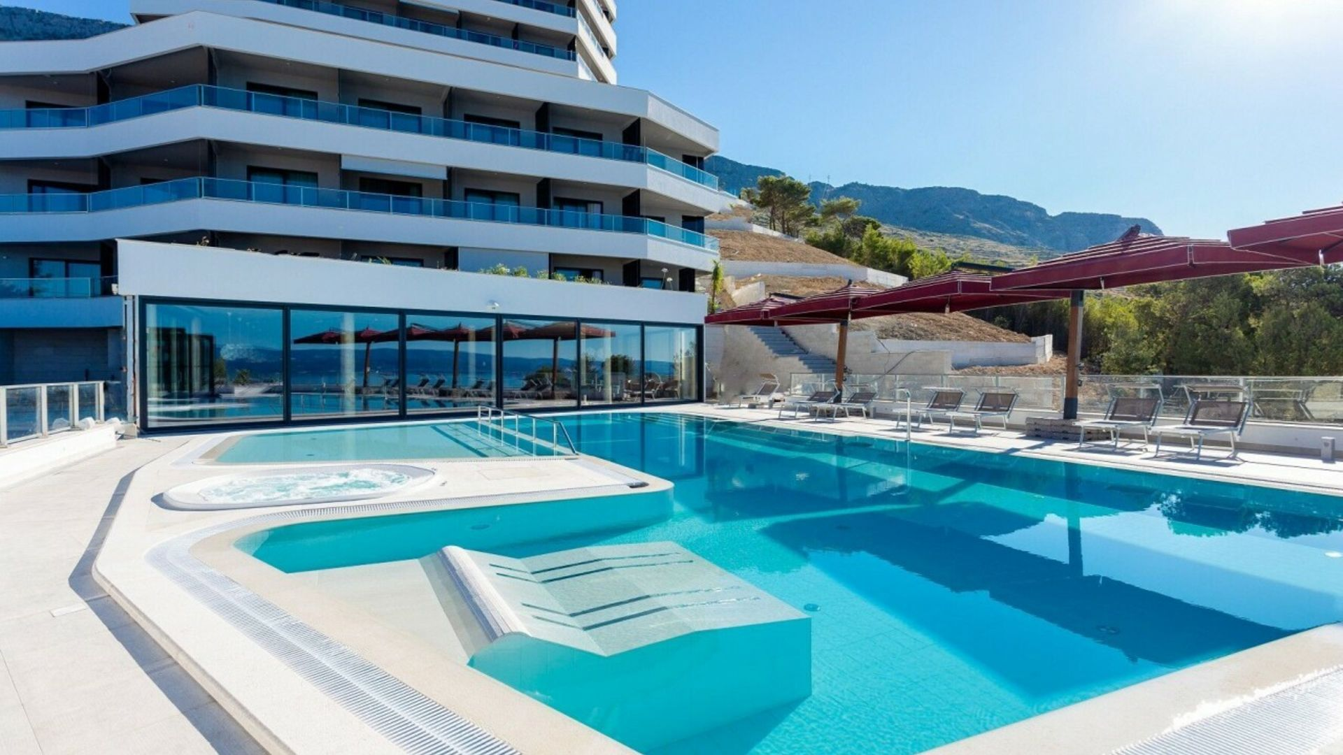Omis - Silvester im 4* Hotel Plaza Duce